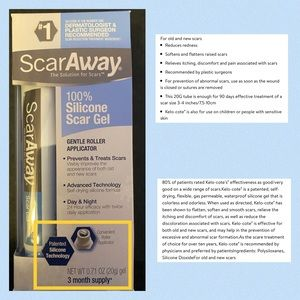 ScarAway Silicone Scar Gel - NEW - 20g